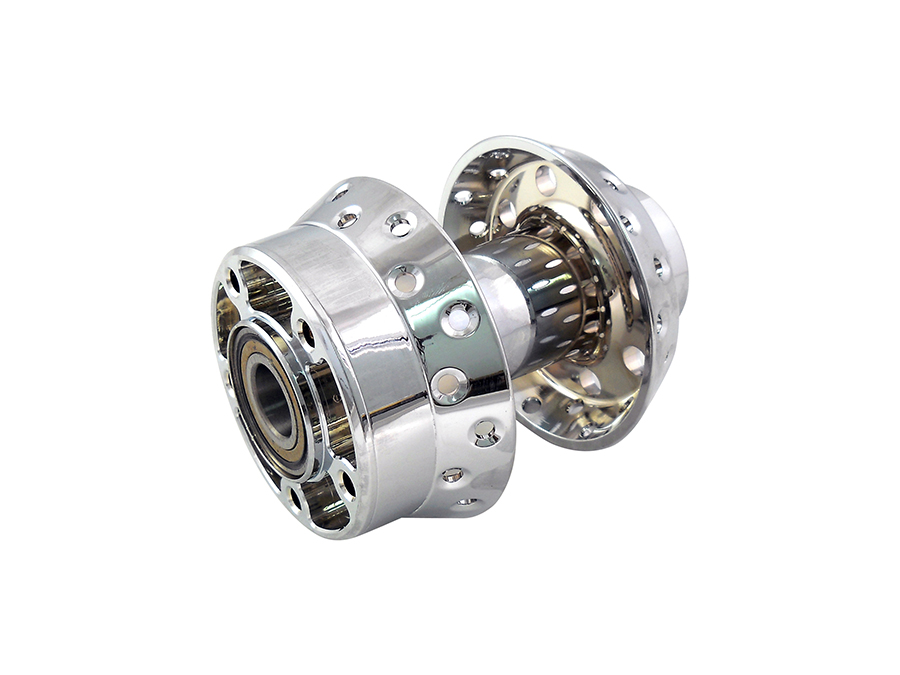 Rear Wheel Hub Chrome