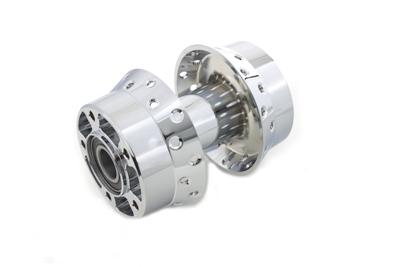Wheel Hub with 25mm Bearings Chrome