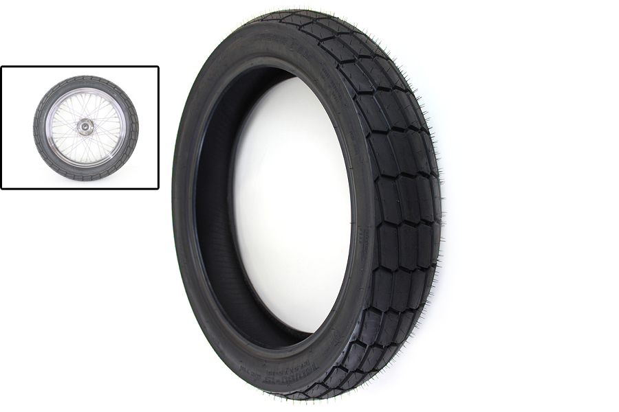 "Shinko SR268 140/80 x 19"" Rear Flat Track Tire Soft"