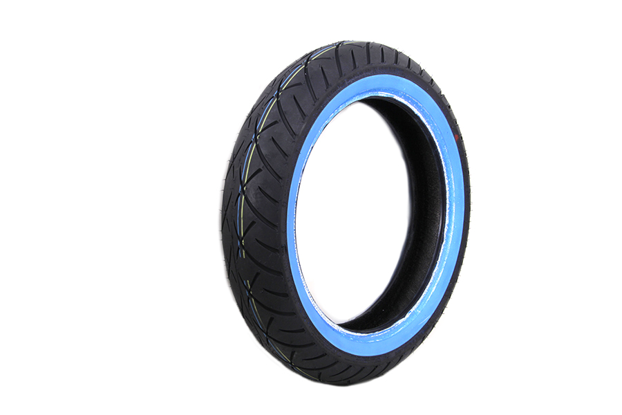 "Metzeler ME888 Marathon 130/80B x 17"" Front Wide Whitewall  Tire"