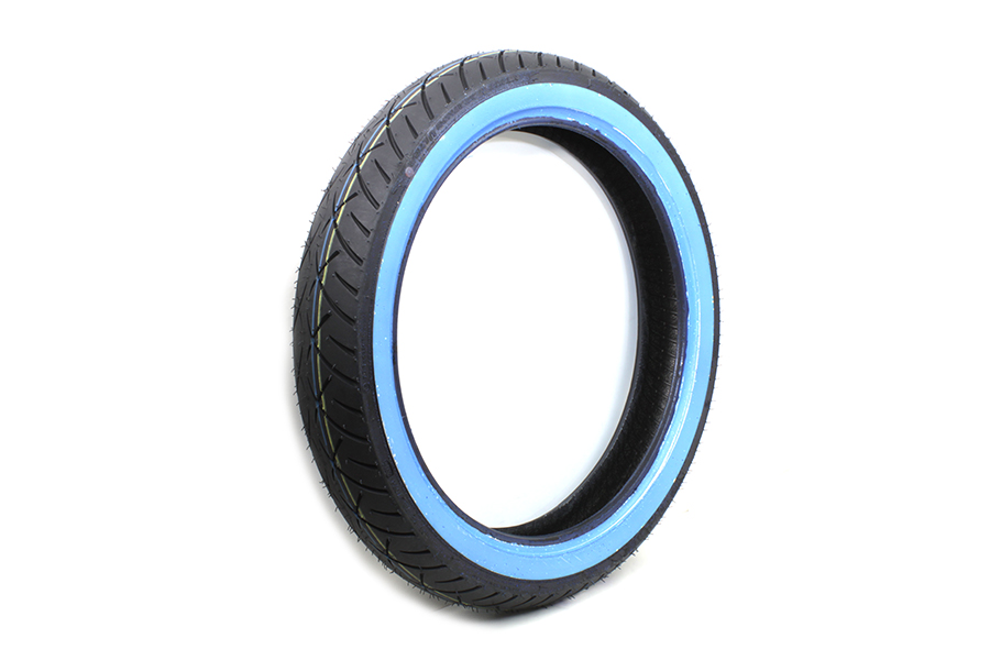 "Metzeler ME888 Marathon 100/90 x 19"" Front Wide Whitewall   Tire"