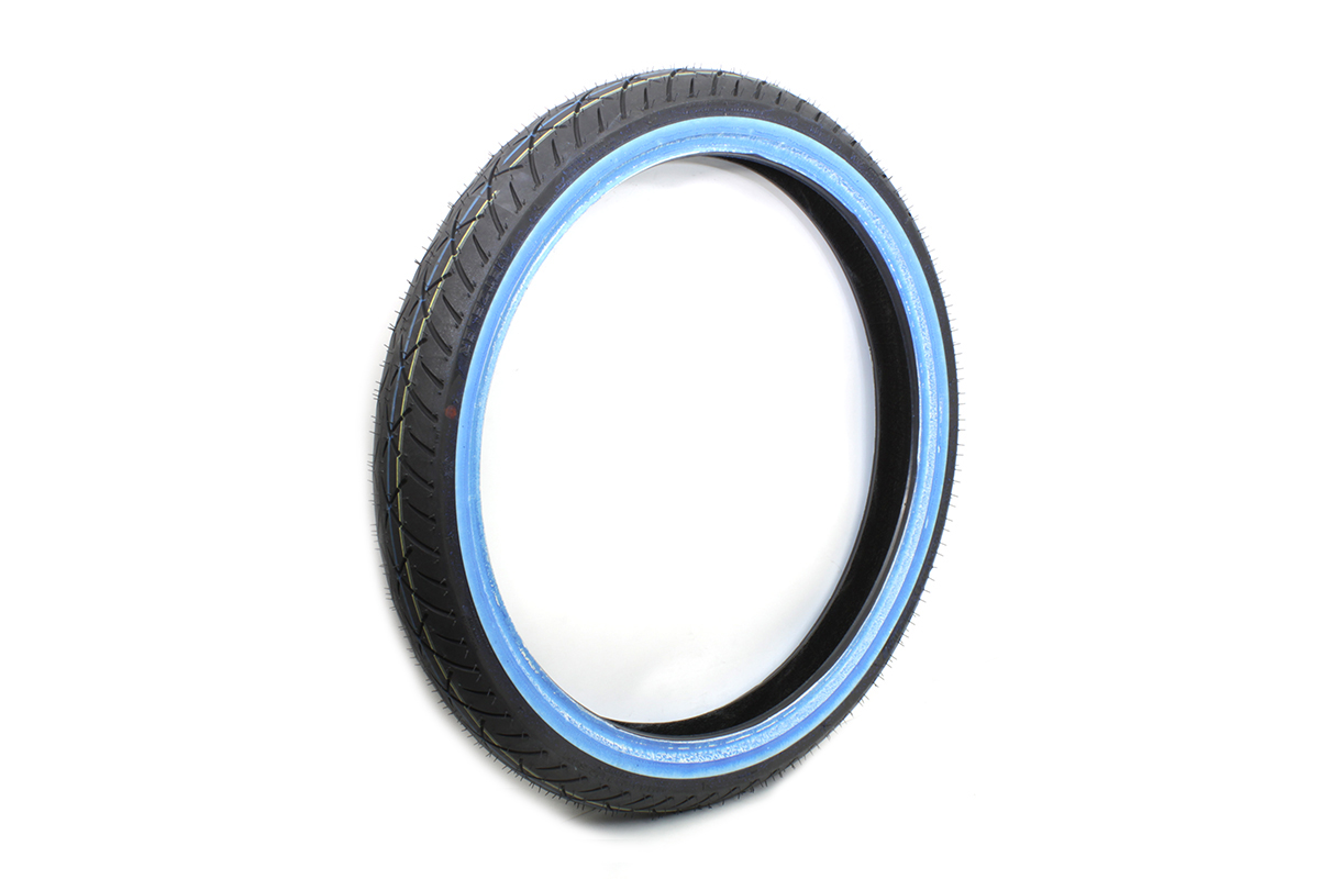"Metzeler ME888 Marathon MH90 x 21"" Front Wide Whitewall Tire"