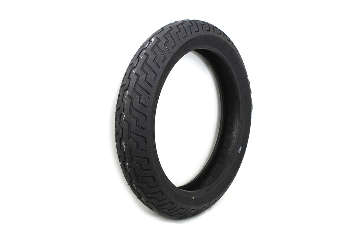 "Dunlop D402 Touring Elite 130/70B 18"" Front Blackwall Tire"