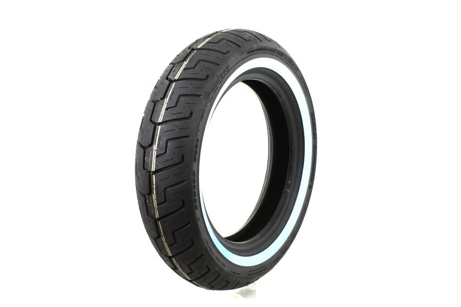 "Dunlop D401 150/80B x 16"" Rear Whitewall Tire"