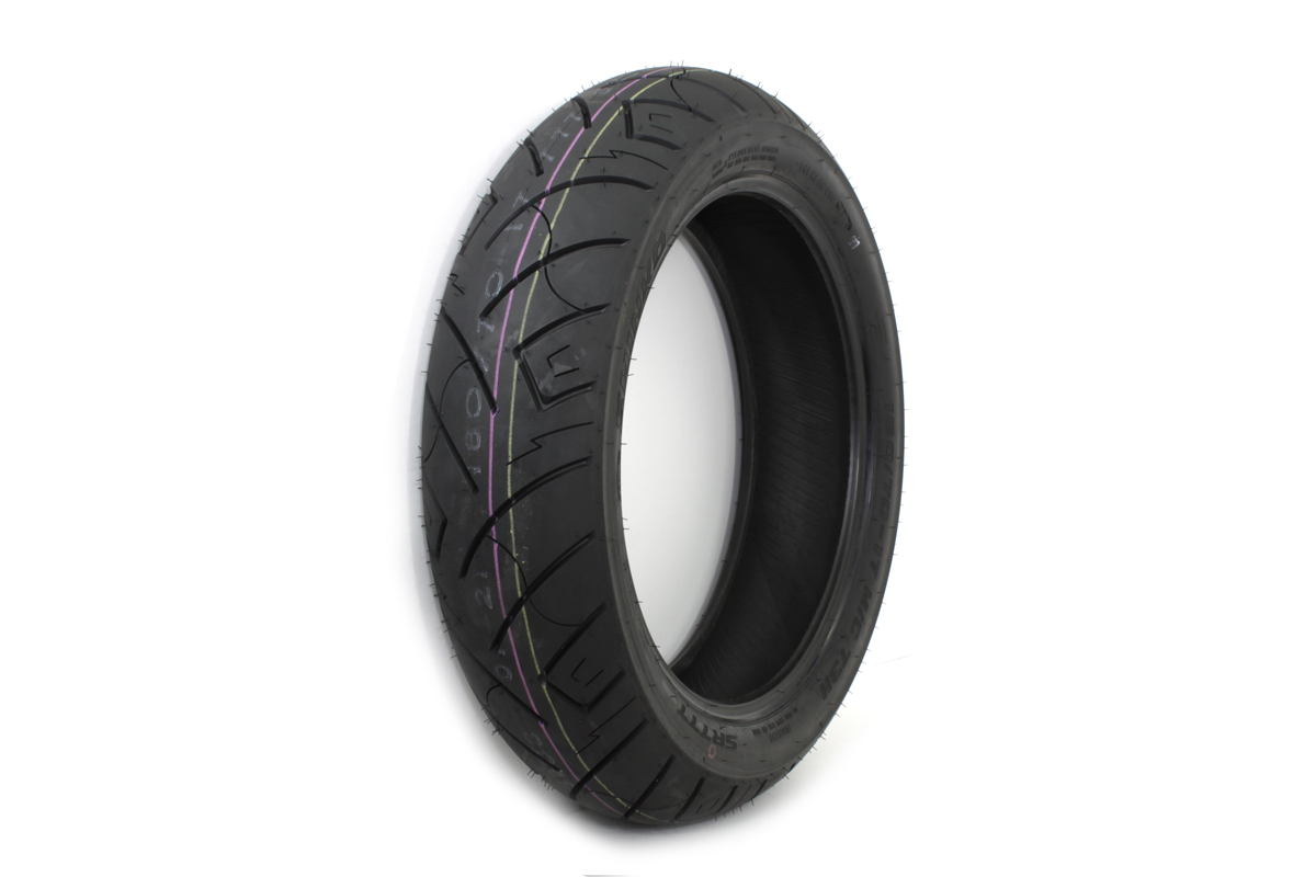 "*UPDATE Shinko SR777 160/70H x 17"" Blackwall Rear Tire"