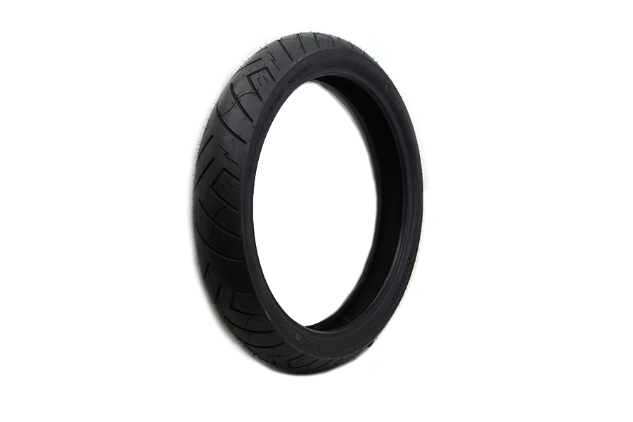 "*UPDATE Shinko SR777 120/70V x 21"" Blackwall Front Tire"