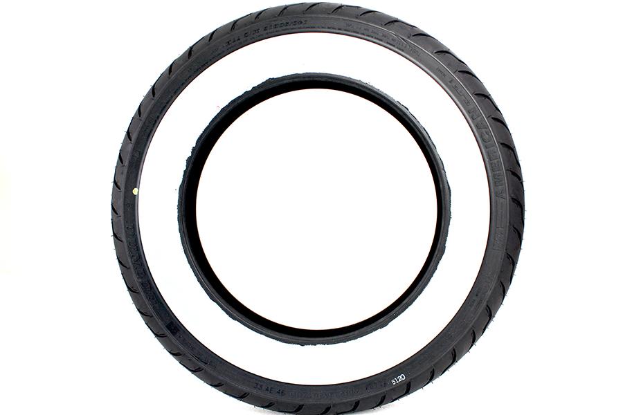Dunlop American Elite 140/90B16 Wide Whitewall Tire