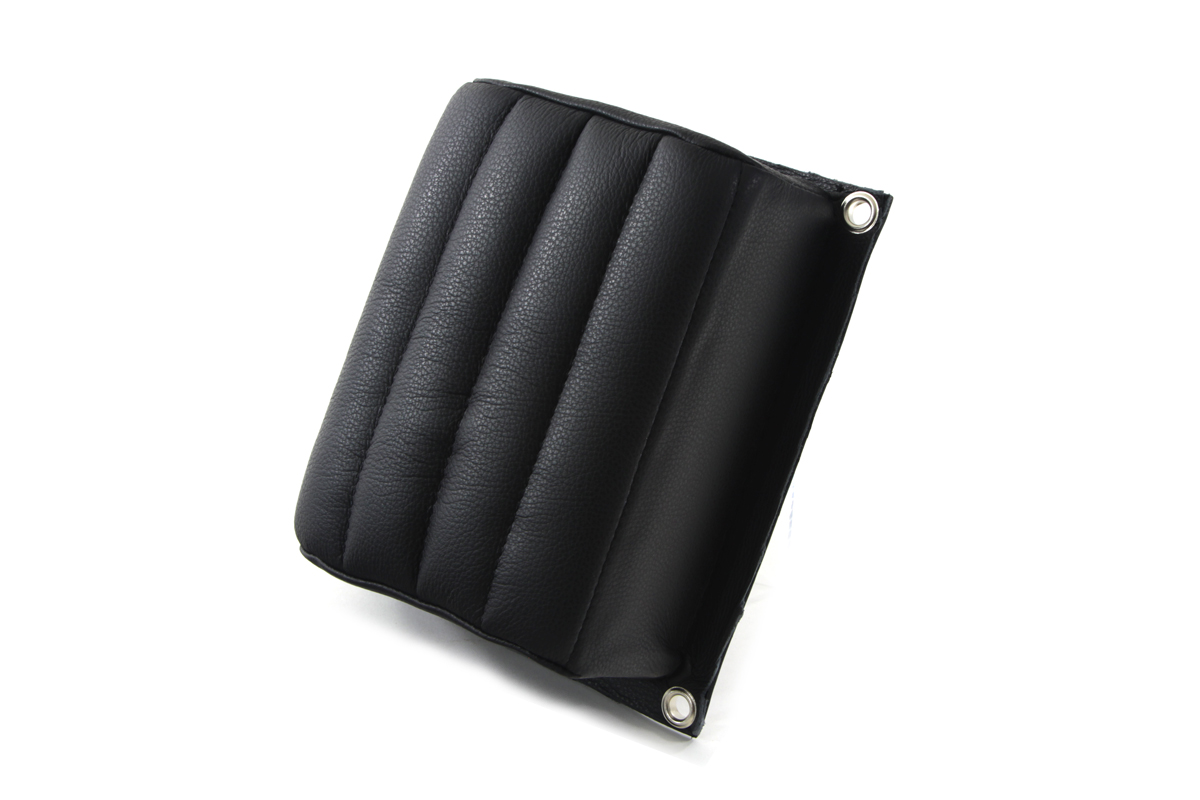 KR Replica Leather Tuck and Roll Rear Seat Pillion Pad