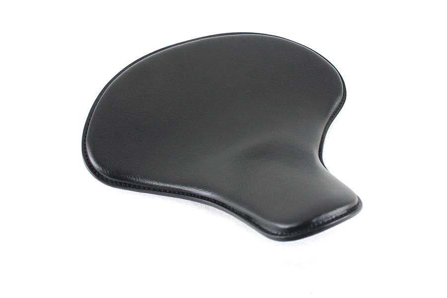 Black Leather Solo Seat