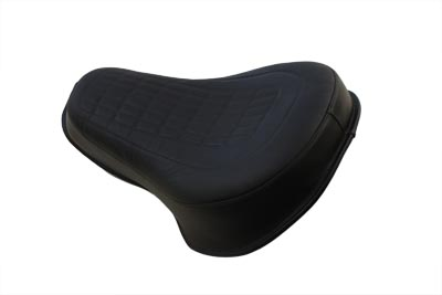*UPDATE Black Leather Heritage Style Buddy Seat