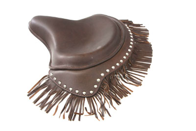 *UPDATE Brown Deluxe Solo Seat with Fringe Skirt