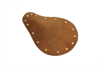 Bare Bones Brown Leather Solo Seat
