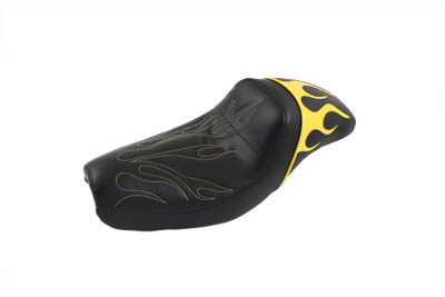 *UPDATE Gunfighter Seat Yellow Flame Style