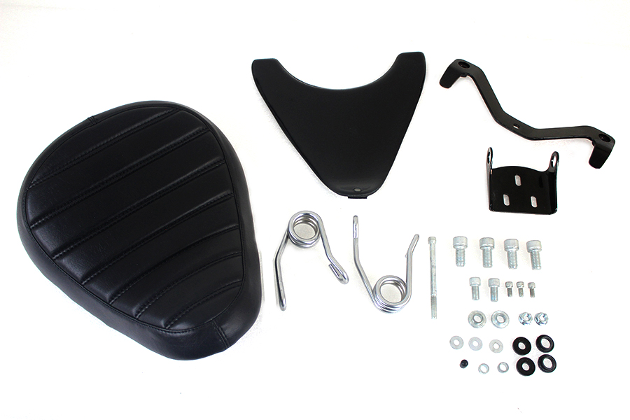 Spring Mount Bates Tuck and Roll Solo Seat Kit