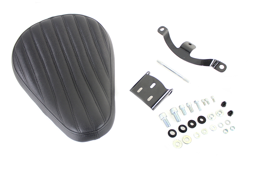 Solid Mount Bates Tuck and Roll Solo Seat Kit