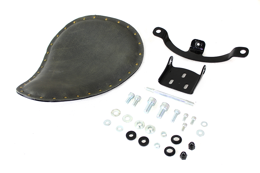 Solid Mount Bates Spring Saddle Solo Seat Kit