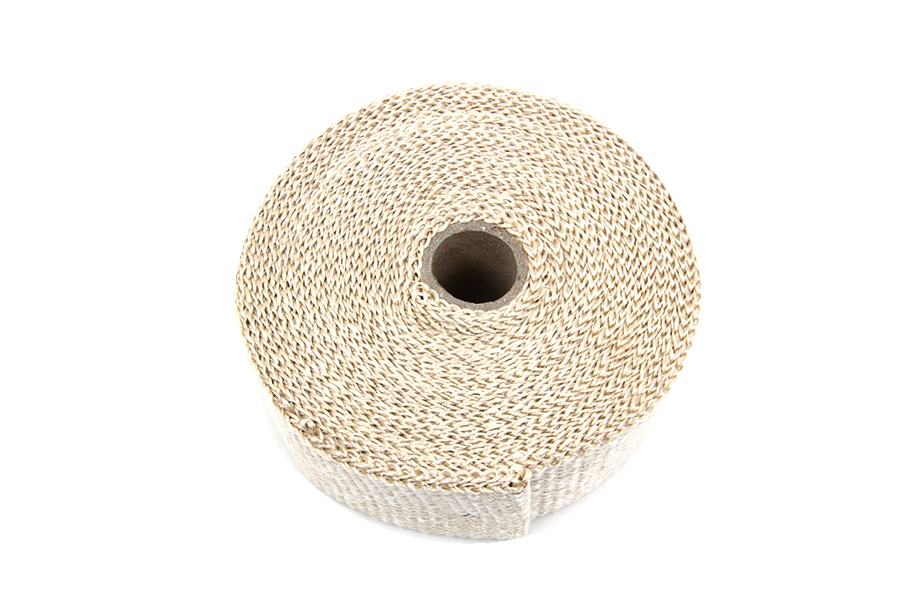 Light Brown Fiberglass Exhaust Wrap