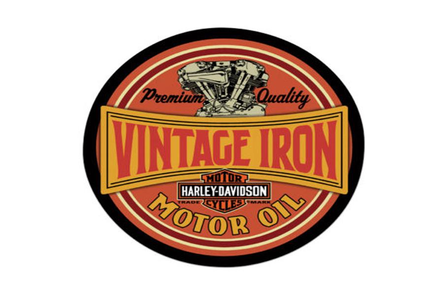 Vintage Iron Tin Sign