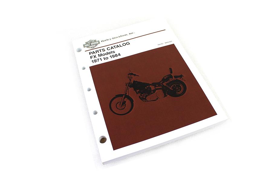 1971-1984 FX Parts Manual