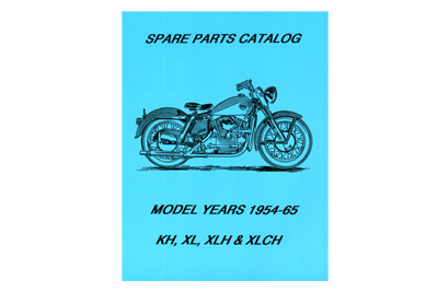 Spare Parts Book for 1954-1965 XL