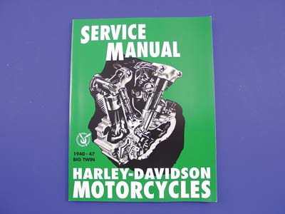 *UPDATE Factory Service Manual for 1940-1947 Knucklehead