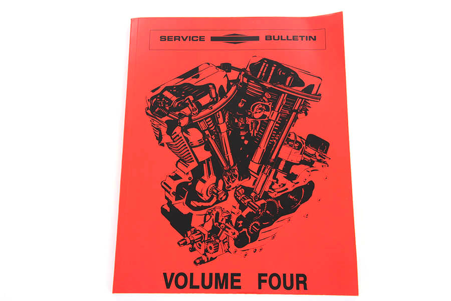 Factory Service Bulletin for 1957-1969 Big Twins