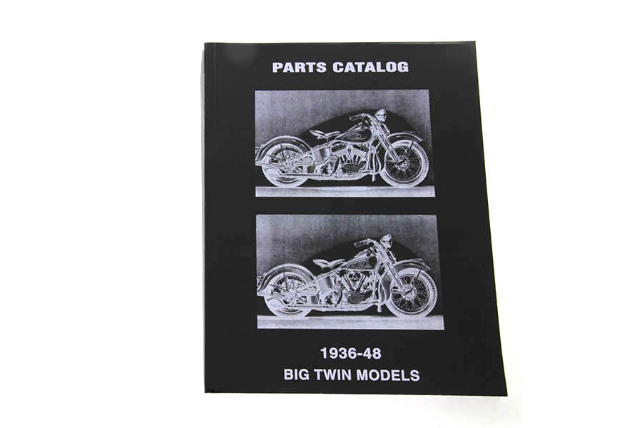 Spare Parts Book for 1936-1948 Knucklehead and Flathead