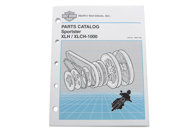 Factory Spare Parts Book for 1954-1978 XL