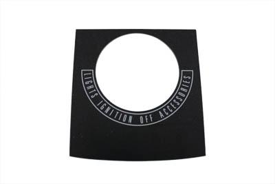 Black Dash Panel Decals