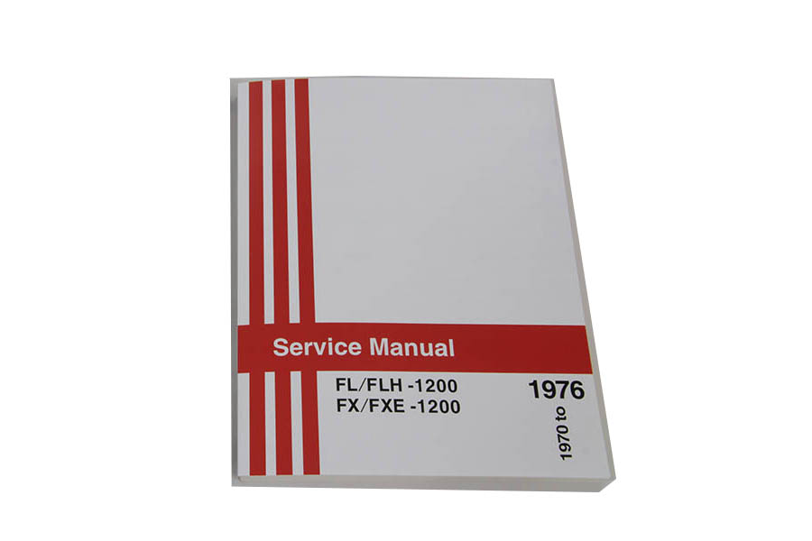 Shovelhead Service Manual for 1970-1976 FL and 1971-1977 FX