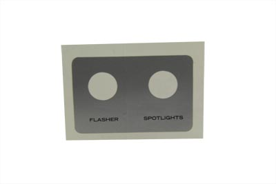 *UPDATE OE Spotlamp Flasher Decal