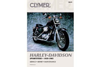 Clymer Repair Manual for 1959-1985 XL