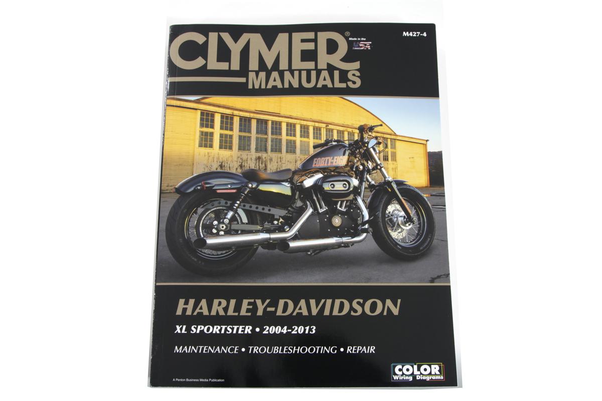 Clymer Repair Manual for 2004-13 XL