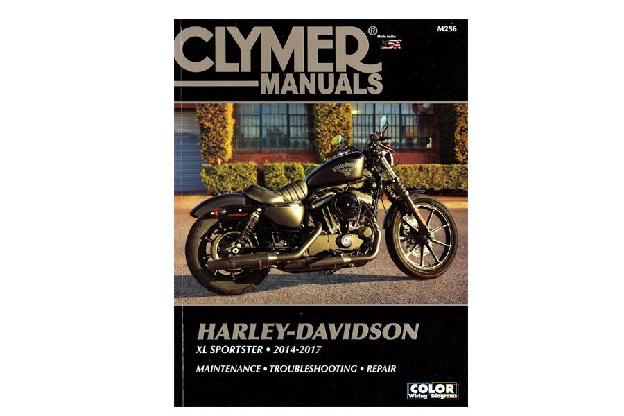 Clymer Repair Manual for 2014-up XL