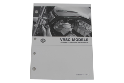 Factory Spare Parts Book for 2004 VRSC