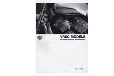 OE Factory Service Manual for 2004 VRSC