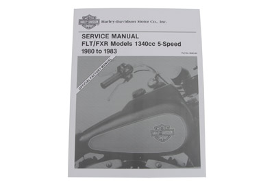 *UPDATE Factory Service Manual for 1980-1983 FXR and FLT