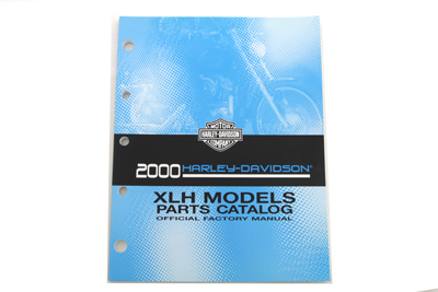 Factory Spare Parts Book for 2000 XL
