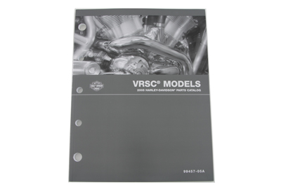 Factory Spare Parts book for 2005 VRSC