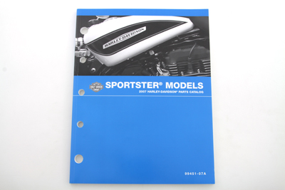 *UPDATE Factory Spare Parts Book for 2007 XL