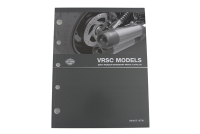 Factory Spare Parts Book for 2007 VRSC