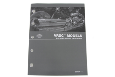 Factory Spare Parts Book for 2008 VRSC