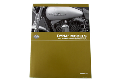 Factory Service Manual for 2007 FXDG