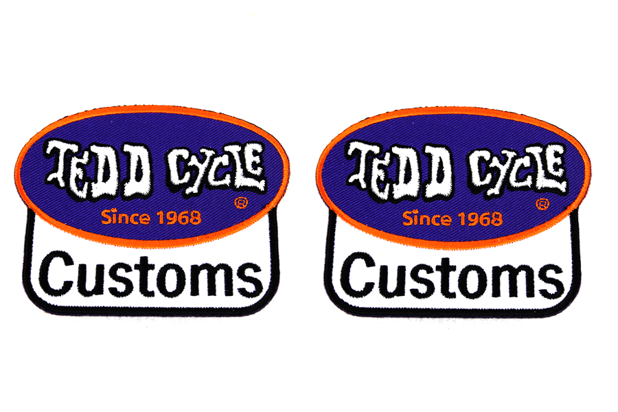 Tedd Cycle Parts and Service Patch Set