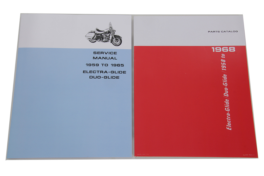 Factory Style Manual Set for Big Twin