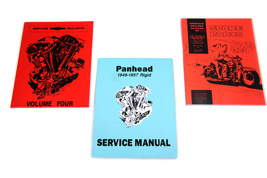 Rigid Panhead Book Set