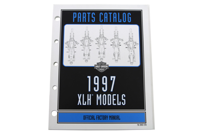 OE Factory Spare Parts Manual for 1997 XL