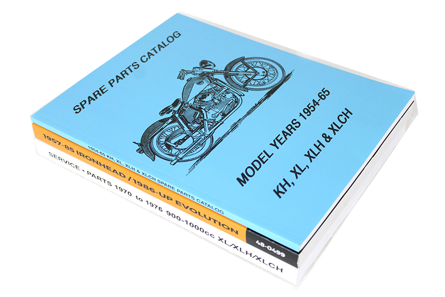 Parts & Service Manual Set for Sportsters
