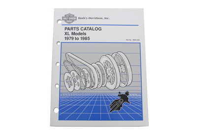Factory Spare Parts Book for 1979-1985 XL