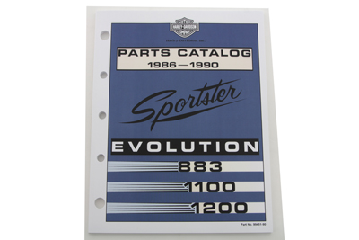 *UPDATE Factory Spare Parts Book for 1986-1990 XL